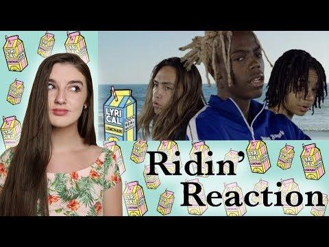 Yung Bans - Ridin ft. YBN Nahmir & Landon Cube (REACTION VIDEO)