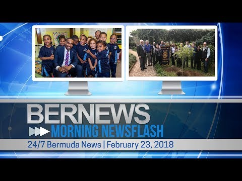 Bernews Newsflash For Friday February 23, 2018