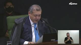 Em 1º julgamento, Nunes Marques vota por soltar promotor acusado de corrupção