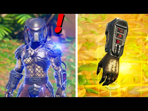 Fortnite Update BOSS PREDATOR Location, Mythic Weapon & Gameplay in v15.21!