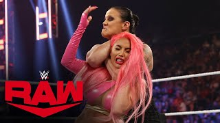 Shayna Baszler delivers brutal beatdown to Eva Marie: Raw, Sept. 27, 2021
