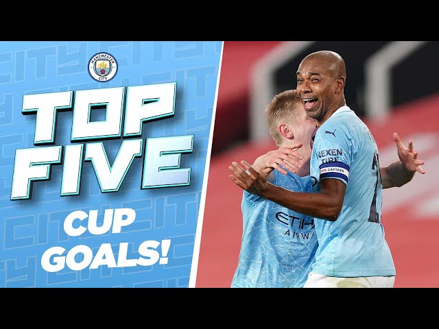 TOP 5 CUP GOALS!   Best of 2020/21
