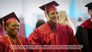 McDonald's: Archways to Opportunity® Program Participant Daniel Cross Life Stage at CTU Graduation