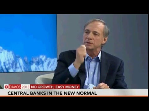 World Economic Forum 2013 WEM Davos: Ray Dalio on Productivity