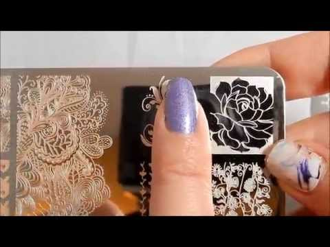 Review of UberChic Beauty Collection 4 (4-01, 4-02, 4-03) stamping plates