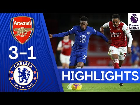Arsenal 3-1 Chelsea | Premier League Highlights