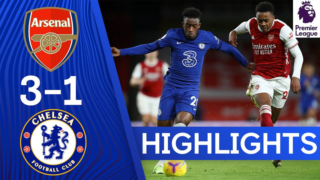 Download Arsenal 3-1 Chelsea | Premier League Highlights