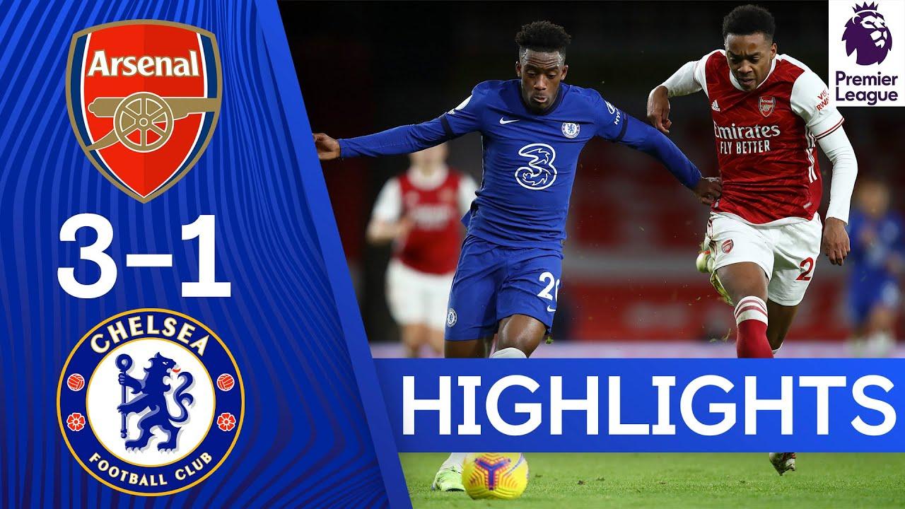 arsenal 3 1 chelsea premier league highlights