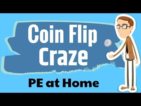 Coin Flip Craze - PE at Home