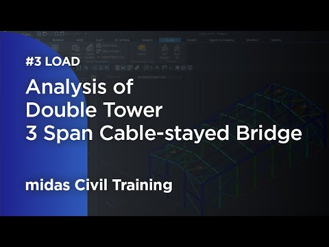 Repeat [midas Civil] Training - Skewed Prestressed Girder Bridges by