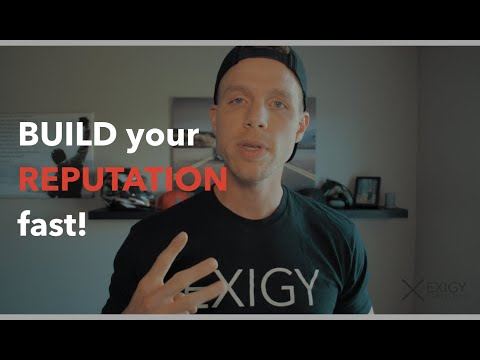 3 ways to BUILD your REPUTATION TODAY