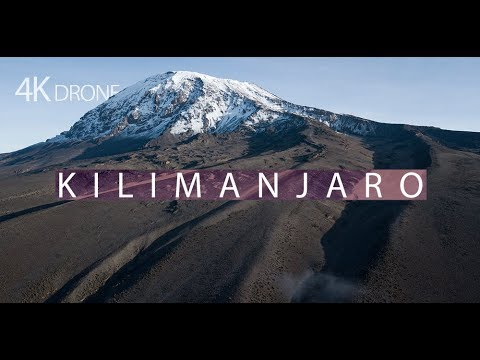 Kilimanjaro first ever drone footage