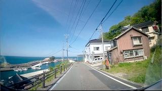 鳥取県道27号(網代港線),155号(網代港岩美停車場線),164号(岩美停車場線)