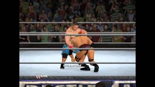 WWE '12 PC John Cena vs The Rock