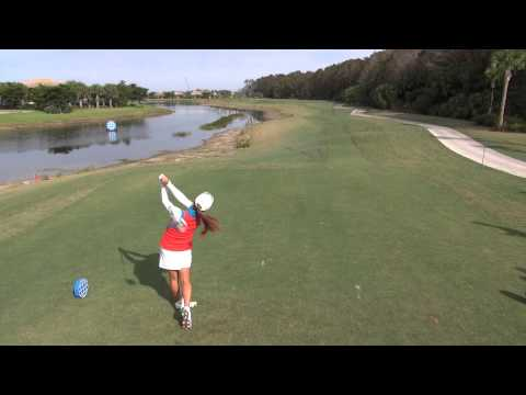 GOLF SWING 2012 - HEE YOUNG PARK DRIVER - ELEVATED DTL & SLOW MOTION  - HQ 1080p HD