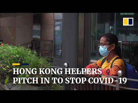 Hong Kong Domestic Helpers Adapt To Life Under Coronavirus Restrictions