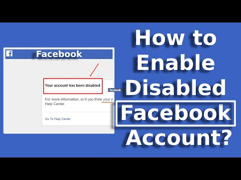 How To Enable Blocked/Disabled Facebook Account |Recover Blocked/Disabled Facebook Account