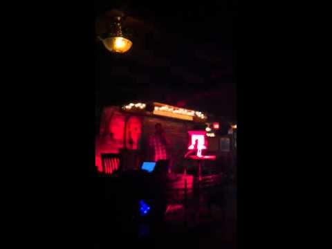 Kyle Lawrence Singing Karaoke