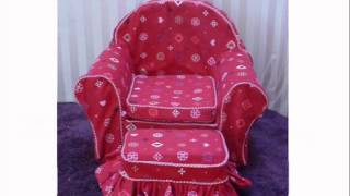 Doll Furniture For American Girl.wmv