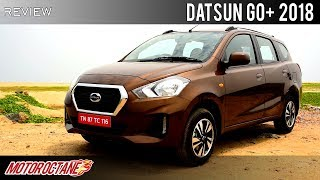Datsun Go+ 2018 Review | Hindi | Motoroctane