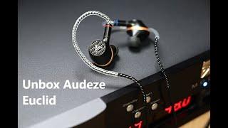 Unbox Audeze Euclid - Tai nghe in-ear planarmagnetic cao cấp đến từ Mỹ, số lượng có hạn.
