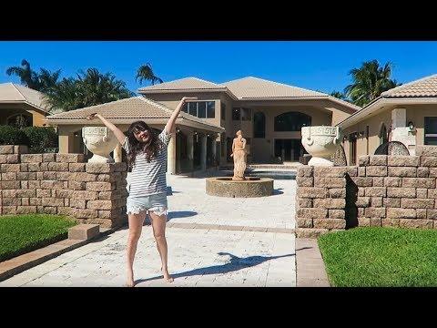We lived in a million dollar mansion!