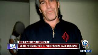 Lead federal prosecutor from Jeffrey Epstein 2008 case resigns
