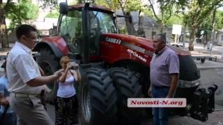 """Видео """"Новости-N"""":  Пикет предпринимателей под Николаевской ГФС"""