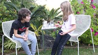 Pouring Slime in a Wubble Bubble with Hayden Summerall