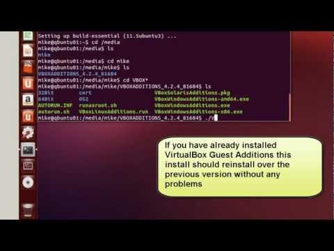 Enable unity d support for ubuntu inside virtualbox