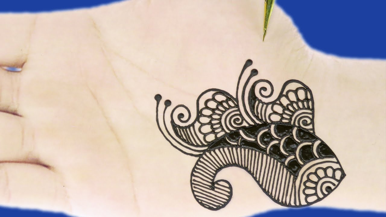 Mehndi Hands With Watch : Mehndi designs for hands simple