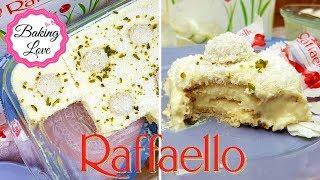 Köstliches Kokos-Schicht-Dessert I Raffaello-Creme I No bake Dessert