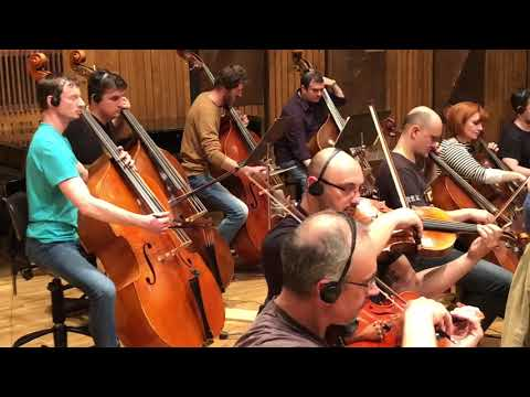 Mark Chait composer - Medicine Man Orchestral Theme Rehearsal