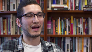 Senior thesis: Rosales transforms his immigrant experience on page and stage thumbnail