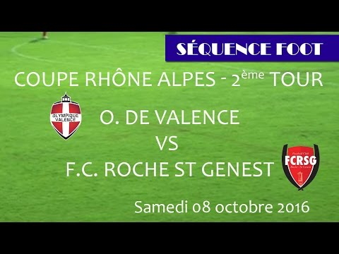 Sequence Foot-2e tour Coupe Rhône Alpes - O Valence vs Roche St Genest 08 10 2016