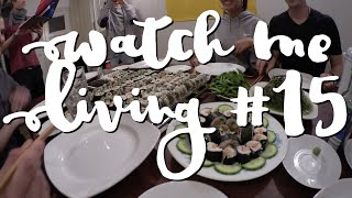 Watch Me Living #15 - A Baking Tray (And More) Full Of Sushi