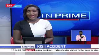 Vehicle rams into crowd in Kisii