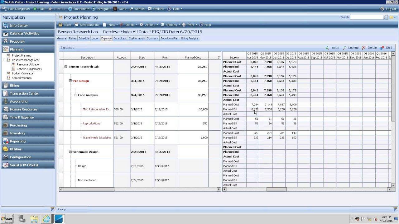 ccg deltek vision resource planning with navigator live demo q a rh youtube com deltek vision training manual pdf Deltek Accounting Software Training