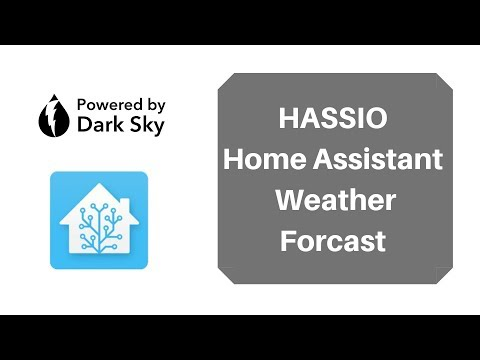 Home Assistant Weather Forecast - Dark Sky - YouTube