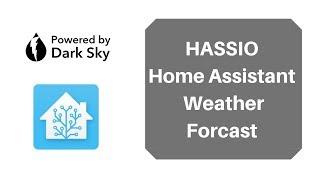 Home Assistant Weather Forecast - Dark Sky