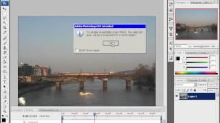 Видео урок - Работа с видео файлами в Adobe Photoshop(Видео урок