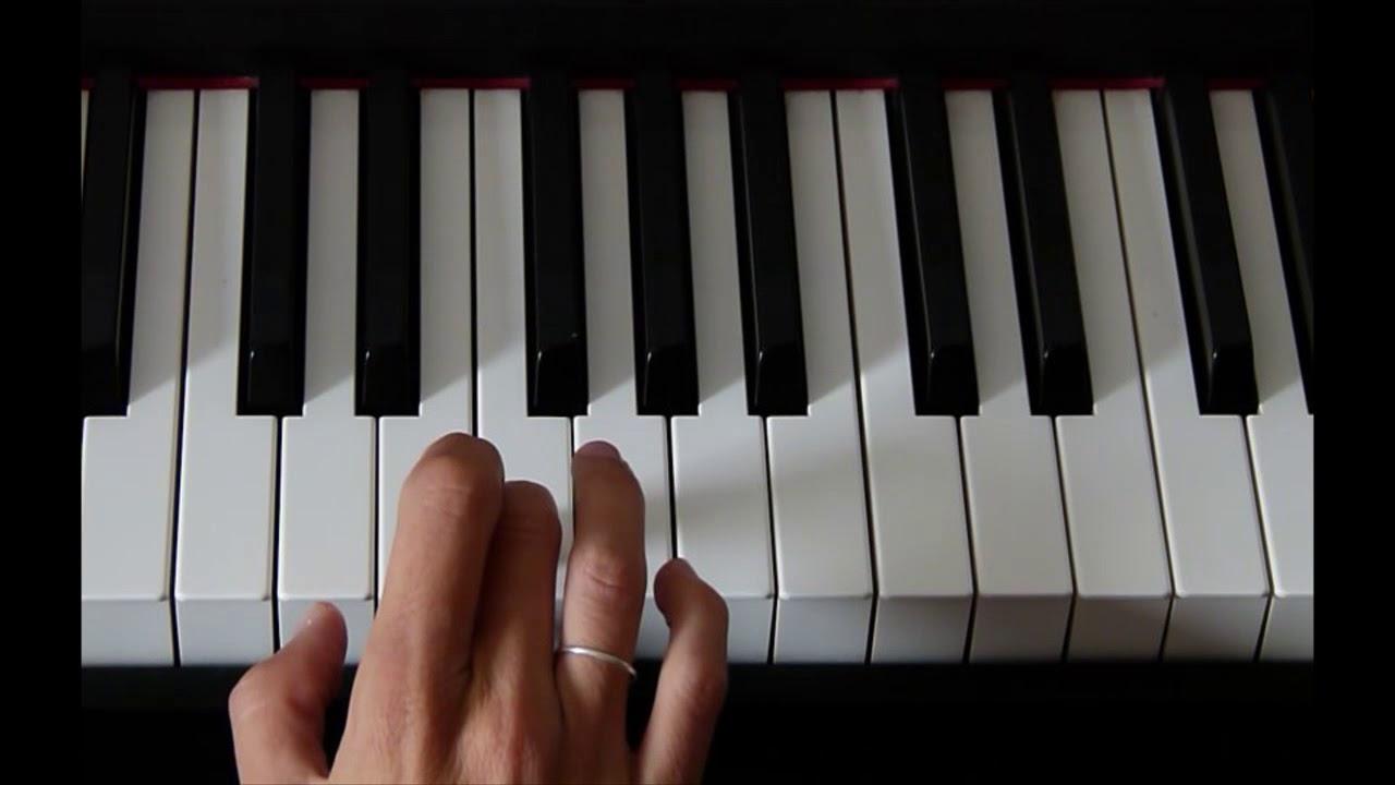 Notas de piano para tocar cumpleanos feliz