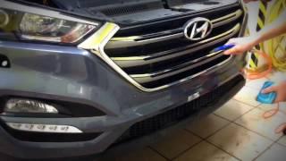 Антигравийная пленка, защитная пленка для автомобиля(Антигравийная защита полиуретановой пленкой автомобиля Hyundai Tucson. Коротко о проекте: Установили защитную..., 2017-01-10T16:01:22.000Z)