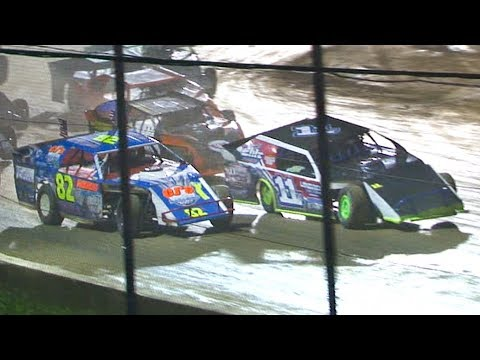 The E-Mod Feature at Stateline Speedway (Busti, NY) on Saturday, August 31st, 2019! Results: Mike McGee, Randy Hall, Steve Rex, Butch Southwell, John ... - dirt track racing video image