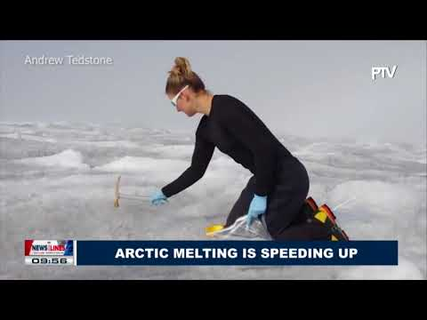 GLOBAL NEWS: Arctic melting is  speeding up