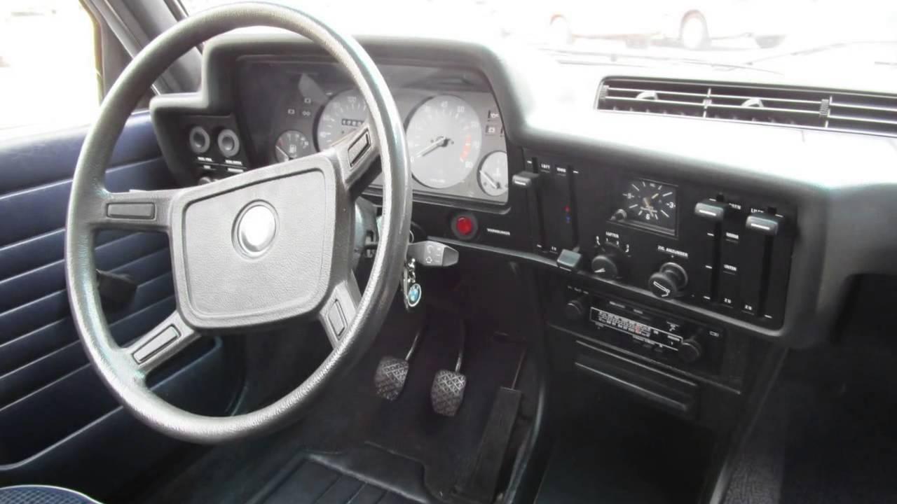 BMW 3 Serie 316 E21 Oldtimer - YouTube