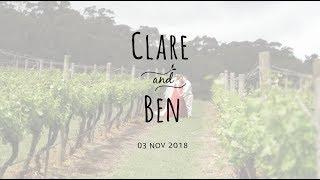 Cinematic Wedding Film - Sony A7Sii + Tamron 28-75 f2.8 + Zhiyun Crane 2 | Clare & Ben's Wedding