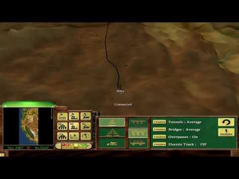 Railroad Tycoon 3 - Coast to Coast, Patch 1.06, California Scenario 720P HD
