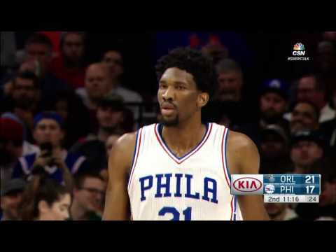 Orlando Magic at Philadelphia 76ers - December 2, 2016
