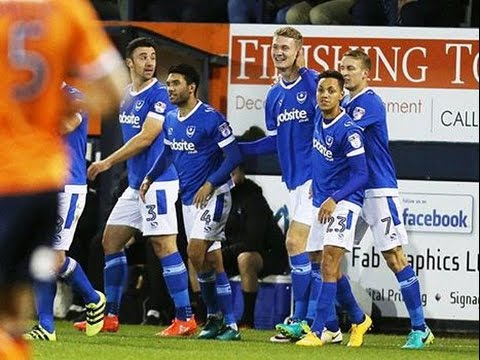 Highlights: Luton Town 1-3 Portsmouth